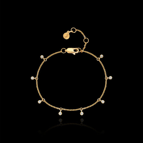Gold Spread Your Wings Bracelet