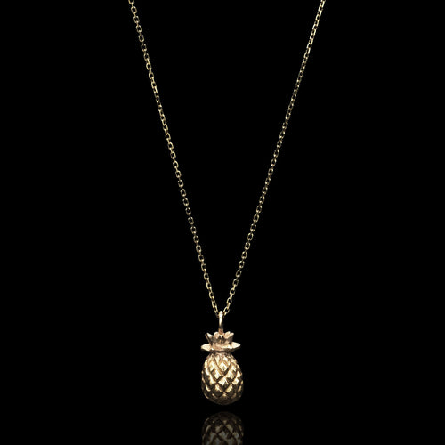 Gold Keep Me Pendant