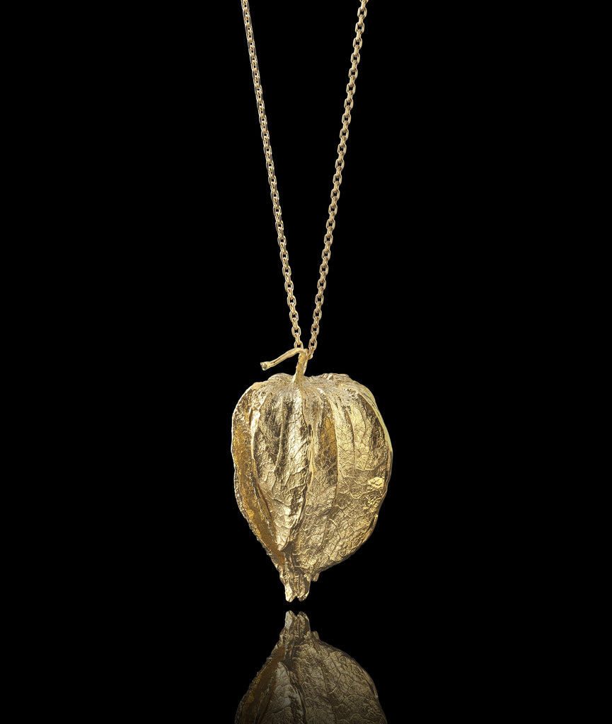 Golden Lantern Locket