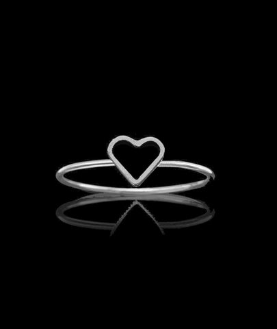 Silver Fairtrade Love Ring