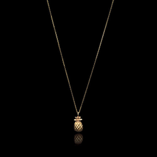 Mini Pineapple Necklace by Catherine Zoraida Jewellery