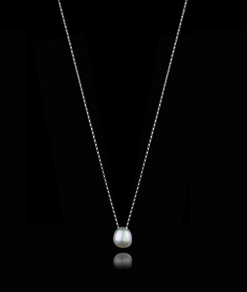 Moonlight Pearl Pendant by Zoraida London Jewellery