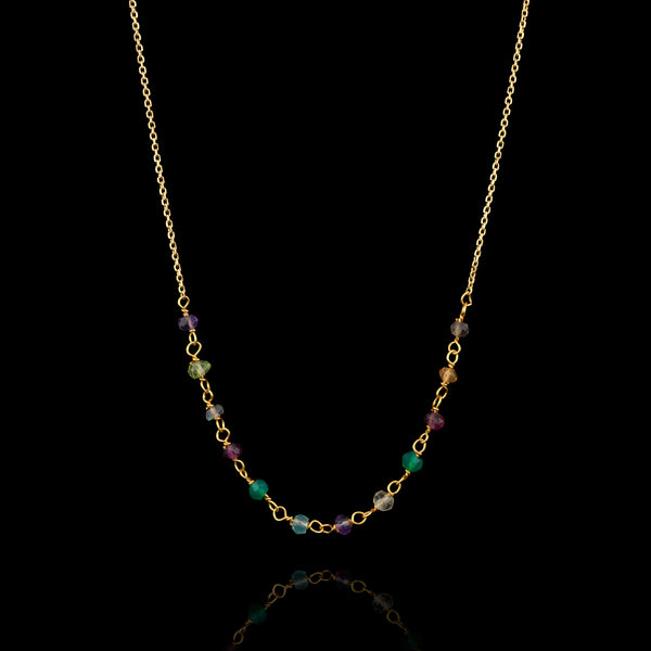 Multicolour Spinel Necklace by Catherine Zoraida