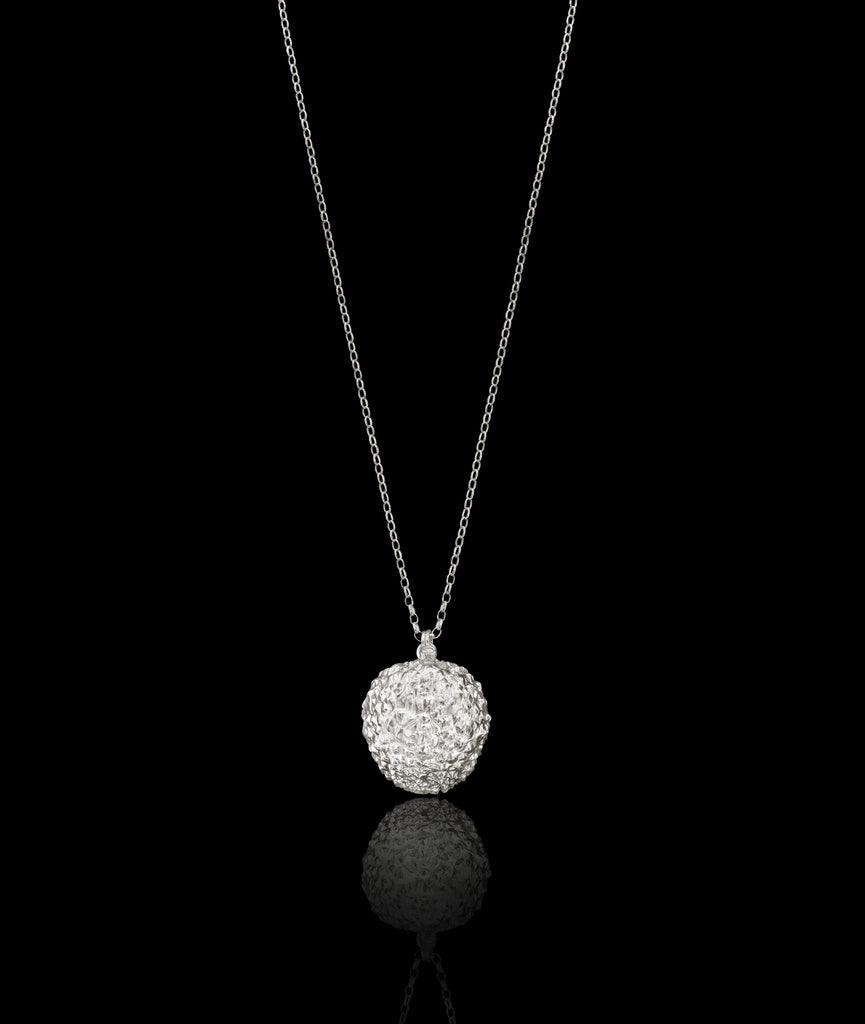 Silver Delicious Lychee Pendant by Catherine Zoraida