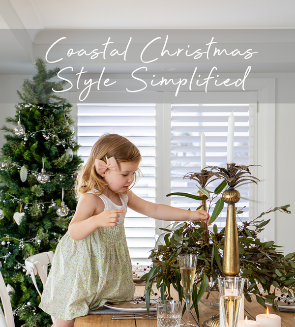 Coastal Christmas Style Simplified