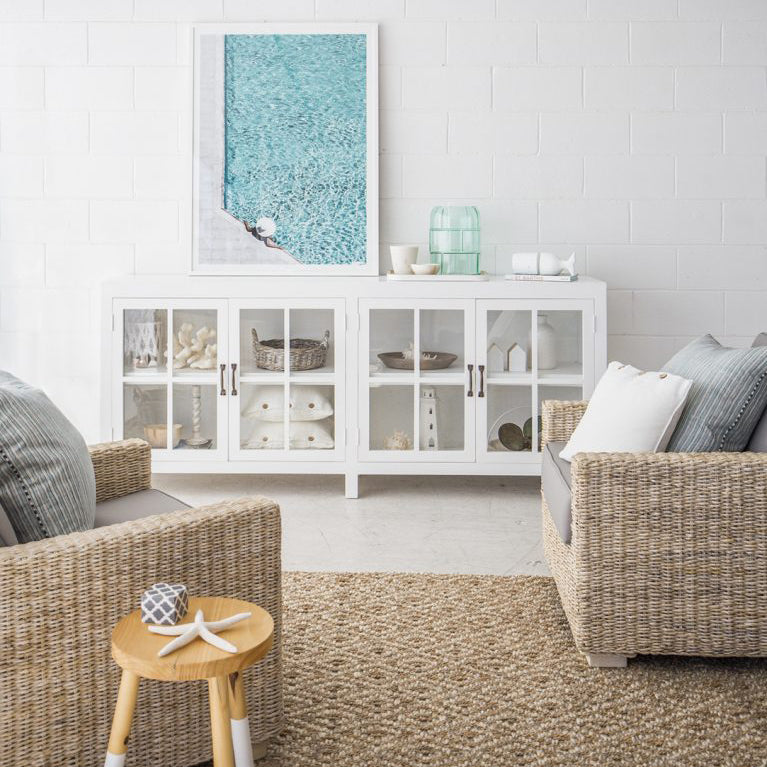 The LIVING ROOM with The Beach Furniture