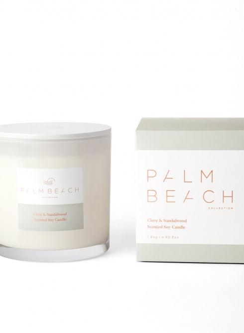 Clove and Sandal Candle Deluxe