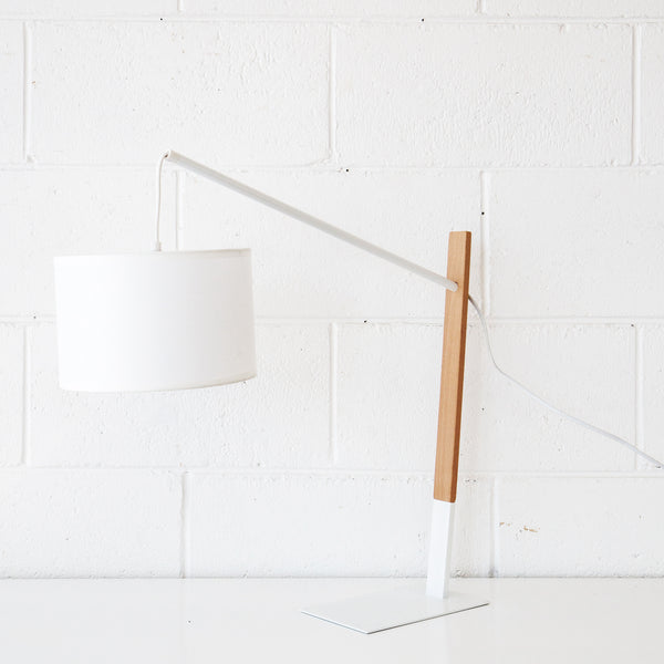 Akio White Table Lamp