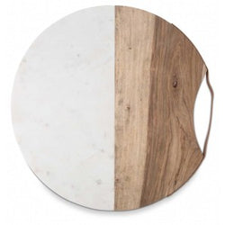 Luxe Round Marble Board