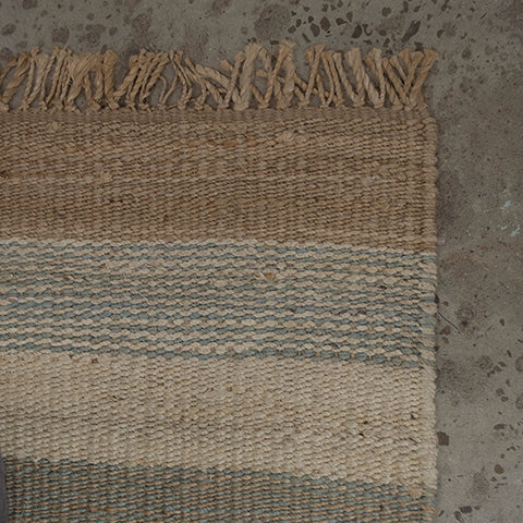Whitsunday Blue Stripe Rug