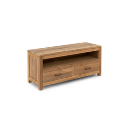 Corfu Entertainment Unit Teak - 2 Dr
