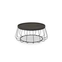 Trevi Wire Coffee Table - Black
