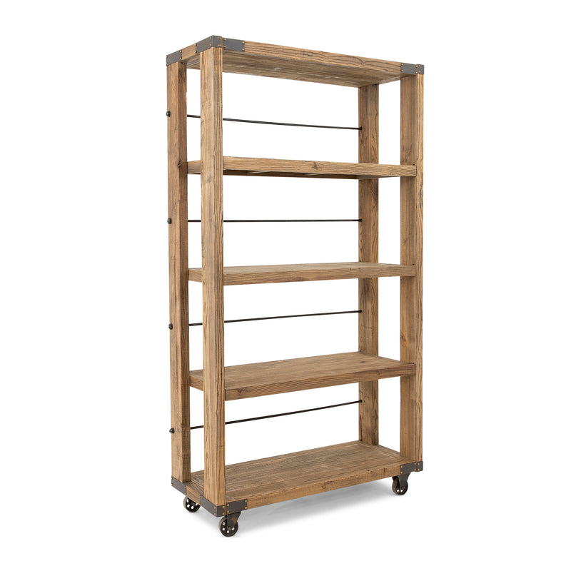 Industrial Shelf on Wheels