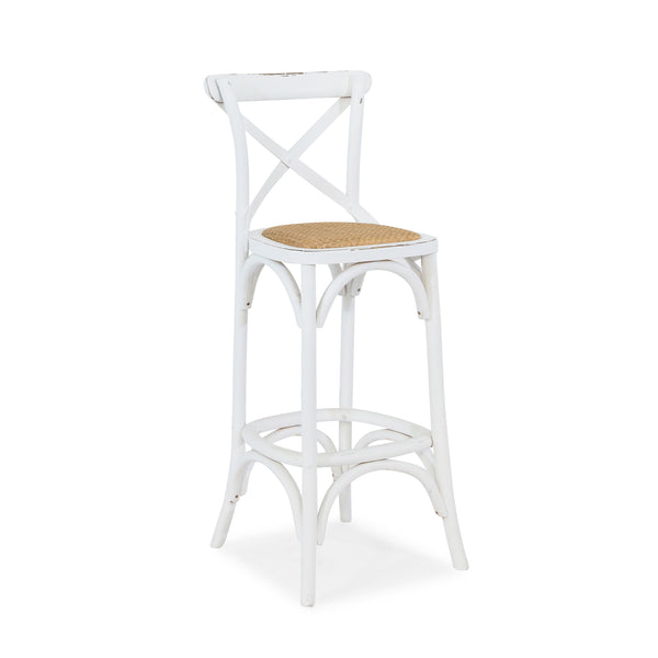 Cafe Bar Stool With Back