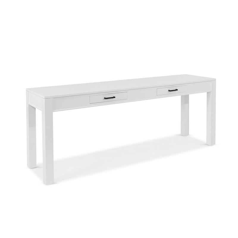 Antibes Hall Table White - 2 Dr