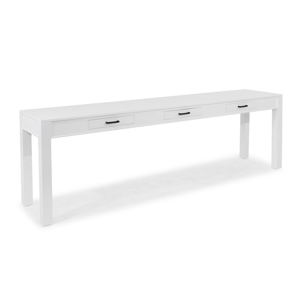 Antibes Hall Table White - 3 Dr