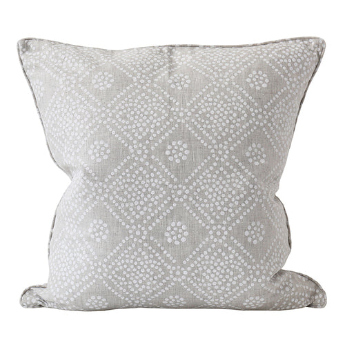 Bandol Chalk Linen Cushion