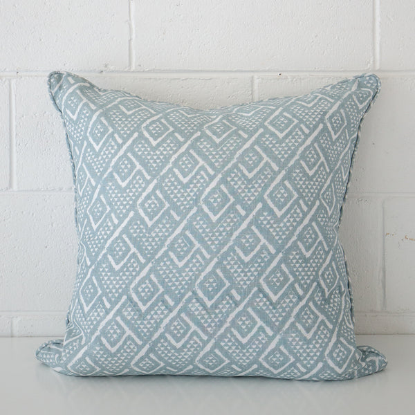 Panama Dusk Linen Cushion