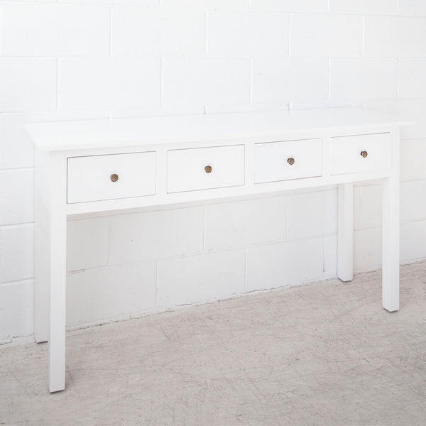 Cannes Hall Table 4 drawer
