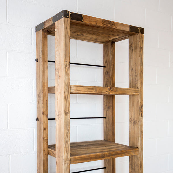 Industrial Narrow Shelf on Wheels