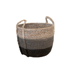 Water Hyacinth Round Basket - Small
