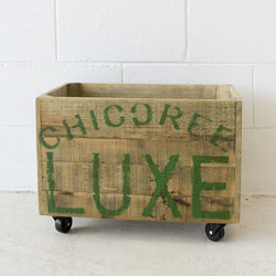 Recycled Crate Chicoree Luxe