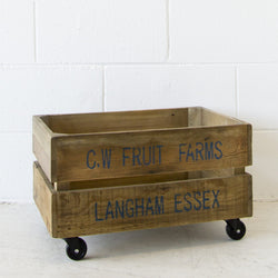 Recycled Crate Fruit Farm