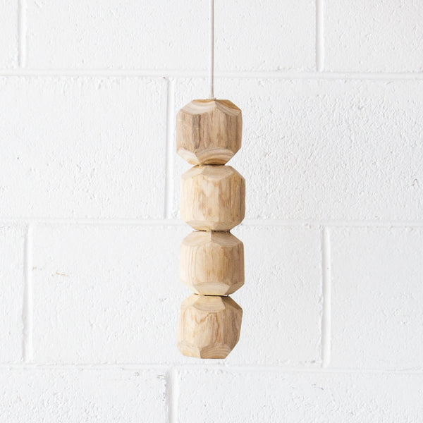 Coconut Hanging Lamp Small