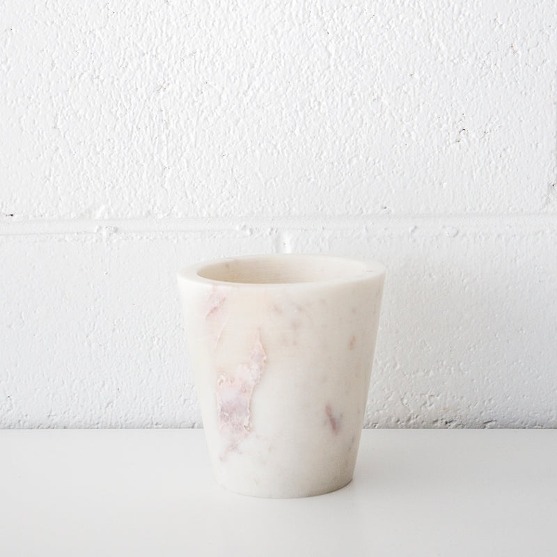 Marble Herb Pot