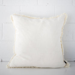 Luca Bohemian Cushion White
