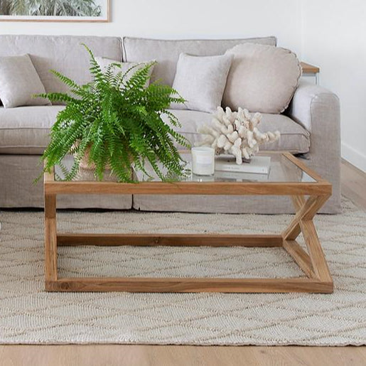 Avocca Coffee Table - Teak