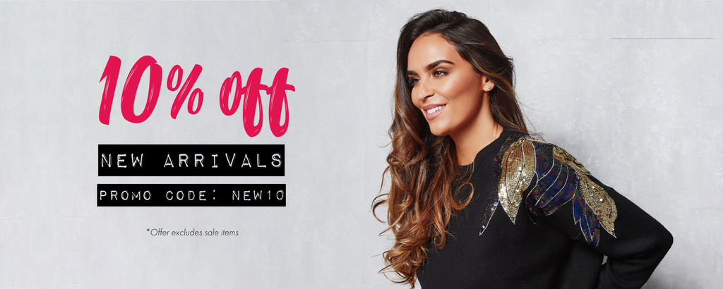 10% Off All New Arrivals