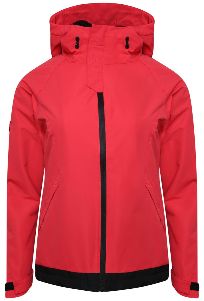 SUPERDRY ELITE WINDCHEATER - HYPER RED/BLACK