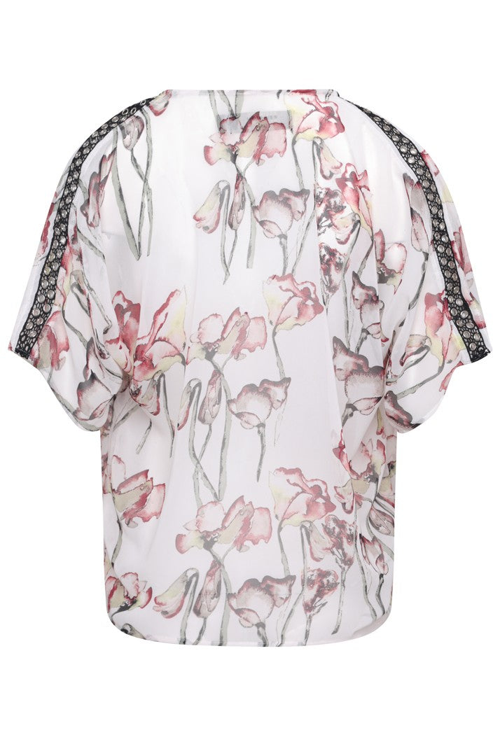 RELIGION CARE TOP - TIMID LIGHT PRINT