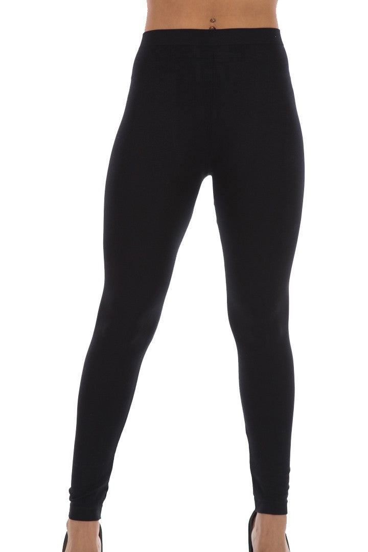 NUTSHELL LYCRA LEGGINGS - BLACK