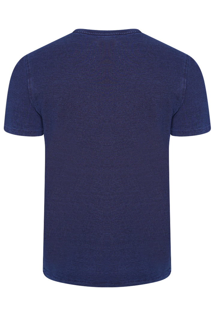 Organic Cotton Workwear Pocket T-Shirt - Indigo