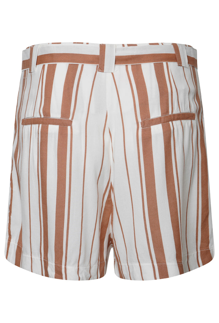 Desert Stripe Shorts - Orange Stripe