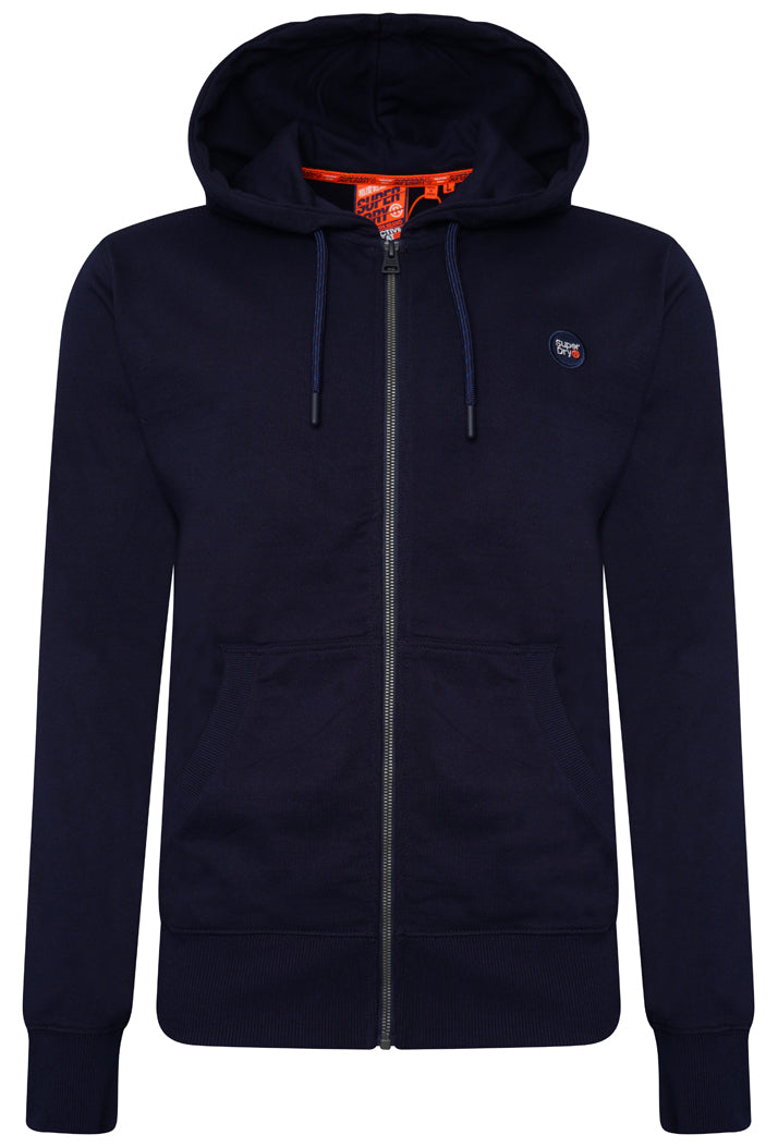 Collective Zip Hoodie - Rich Navy