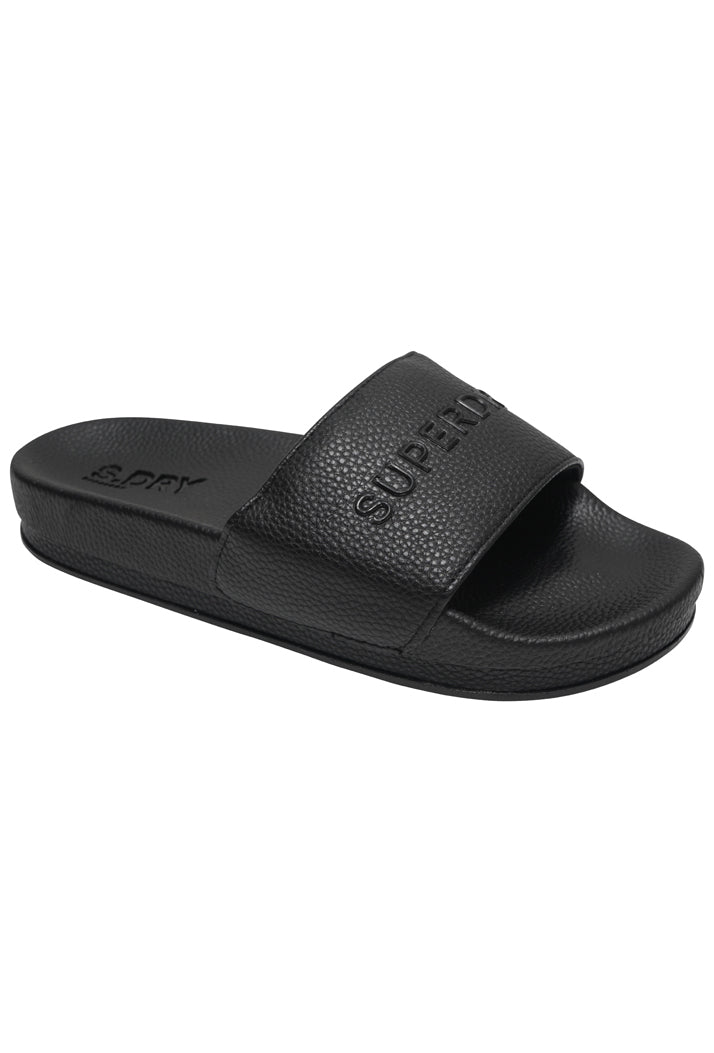 Arizona High Build Flatform Sliders - Black