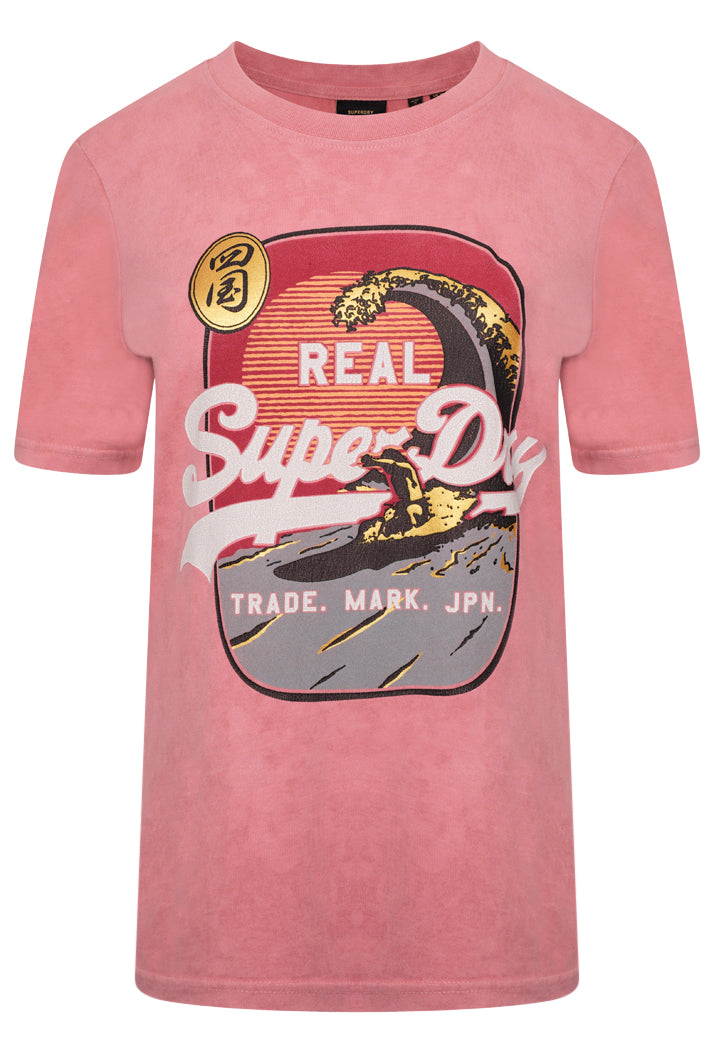 Vintage Logo Itago T-Shirt - Dusty Rose