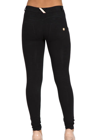 FREDDY WRUP1RC001 SHAPING EFFECT MID RISE SKINNY PANT - BLACK