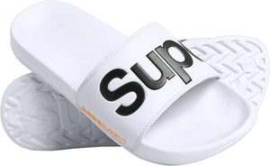 Classic Superdry Pool Sliders - Optic