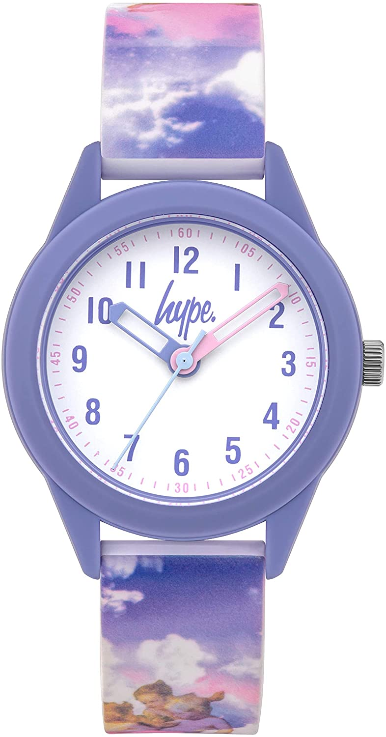 Kids Angel Rainbow Skies Soft Touch Watch