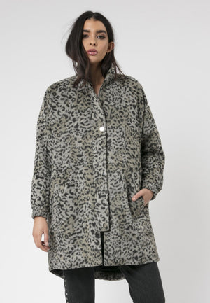 Saturn Coat Snow Leopard