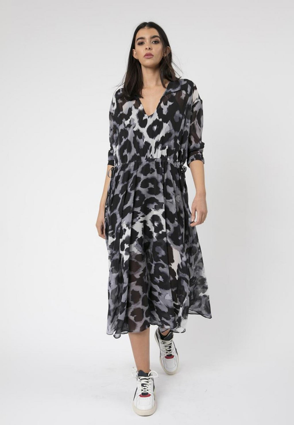 Creation Maxi Dress Panthera Print