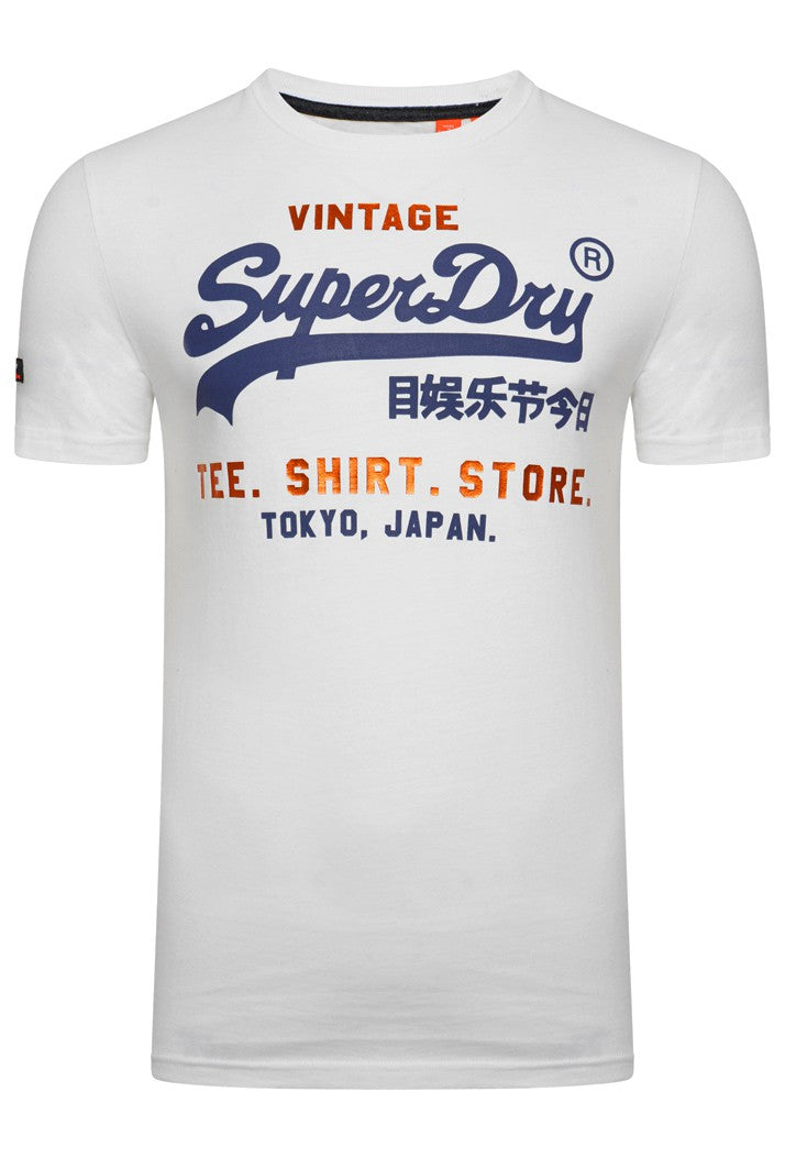 SUPERDRY SHIRT SHOP T-SHIRT - OPTIC