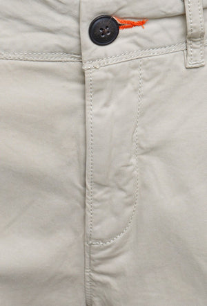 SUPERDRY INTERNATIONAL SLIM CHINO LITE SHORTS - SAND DOLLAR