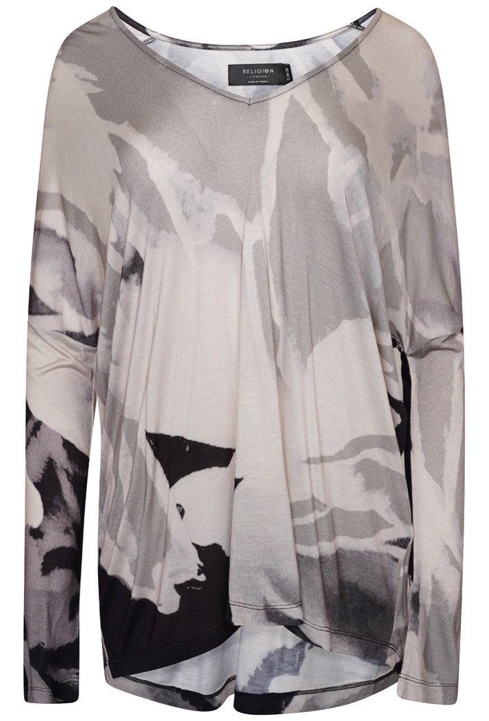 RELIGION ALERT TOP - EMBRACE PRINT