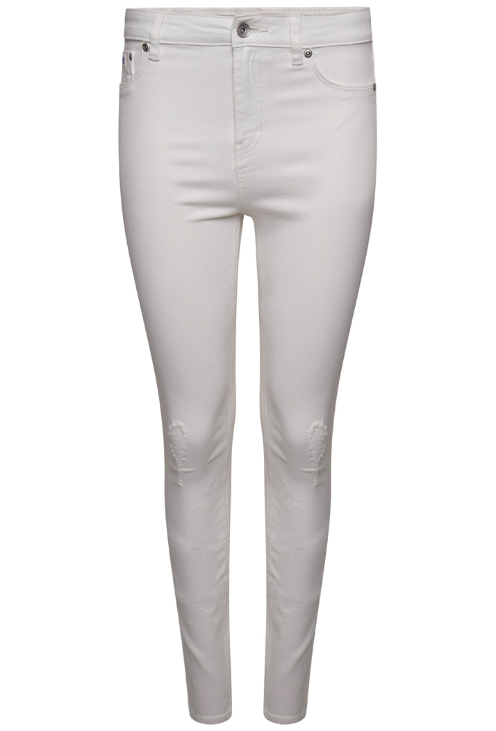 SUPERDRY SOPHIA SKINNY JEANS - OPTIC WHITE