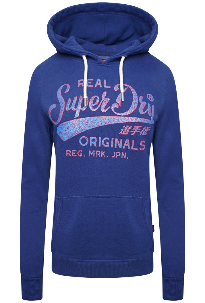 SUPERDRY REAL ORIGINALS HIGH BUILD CRACKLE  - SUPERMARINE NAVY
